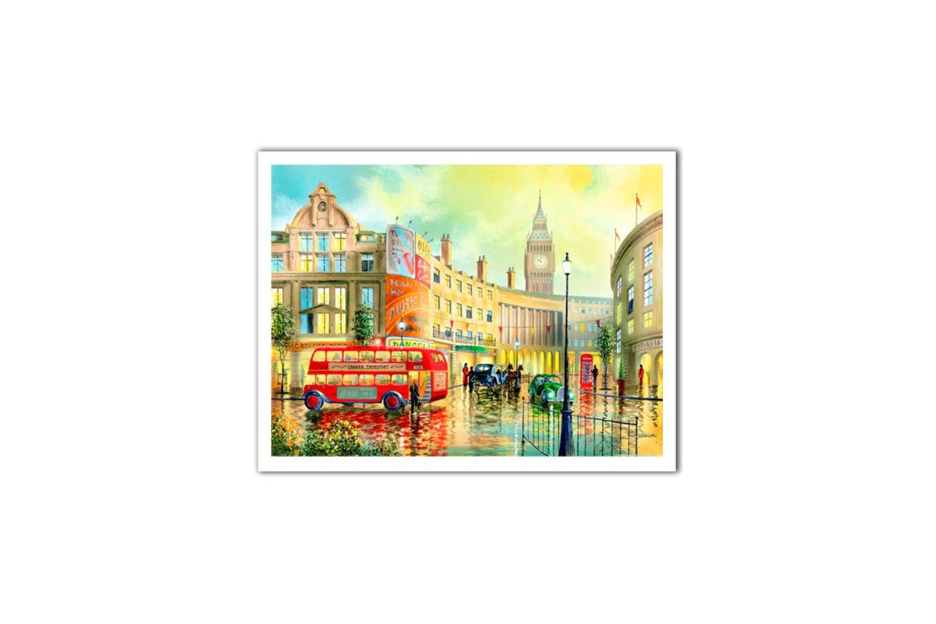 Puzzle din plastic Pintoo - Ken Shotwell: Morning in London, 1200 piese (H1996) imagine