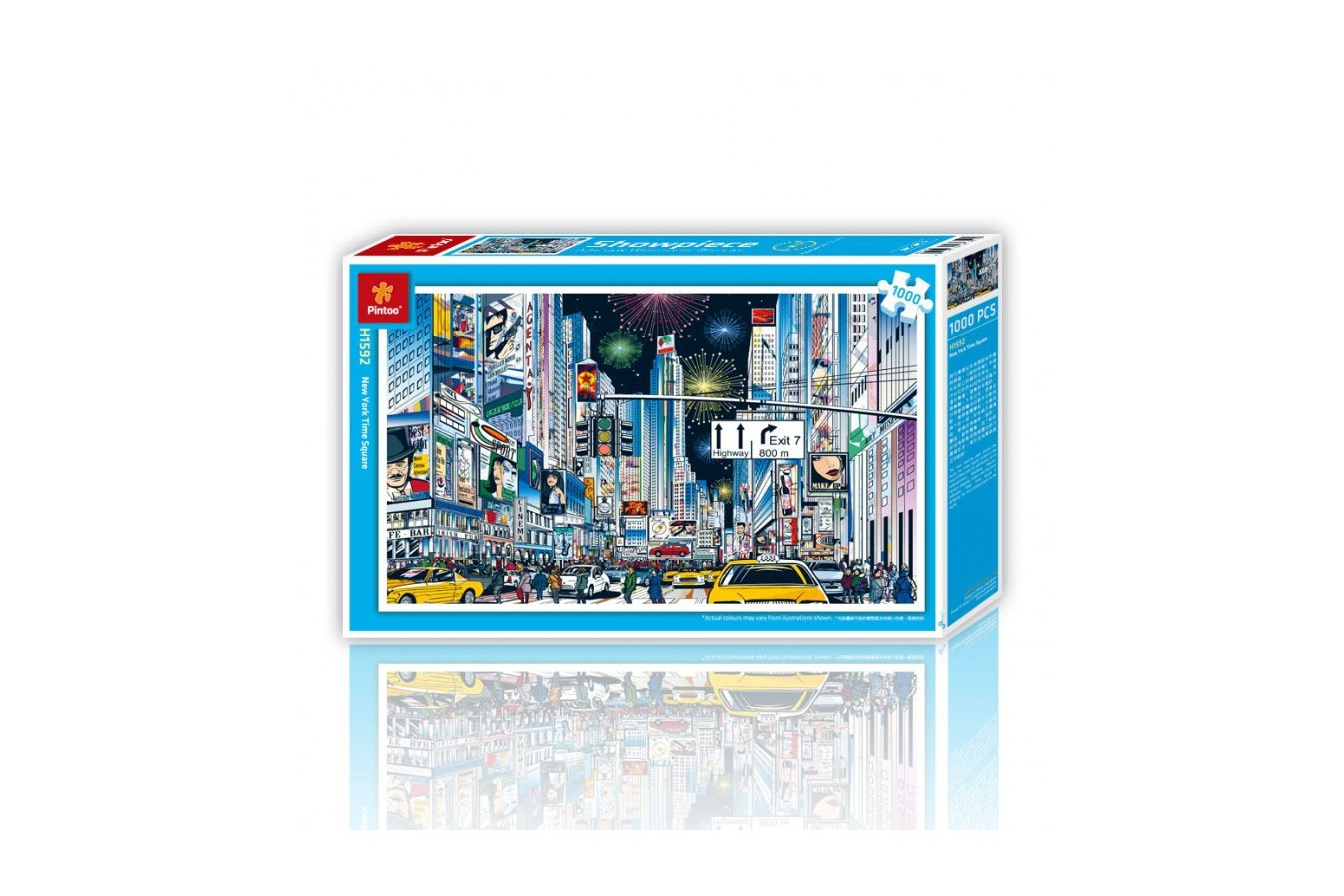 Puzzle din plastic Pintoo - New York City, 1.000 piese (H1592) imagine