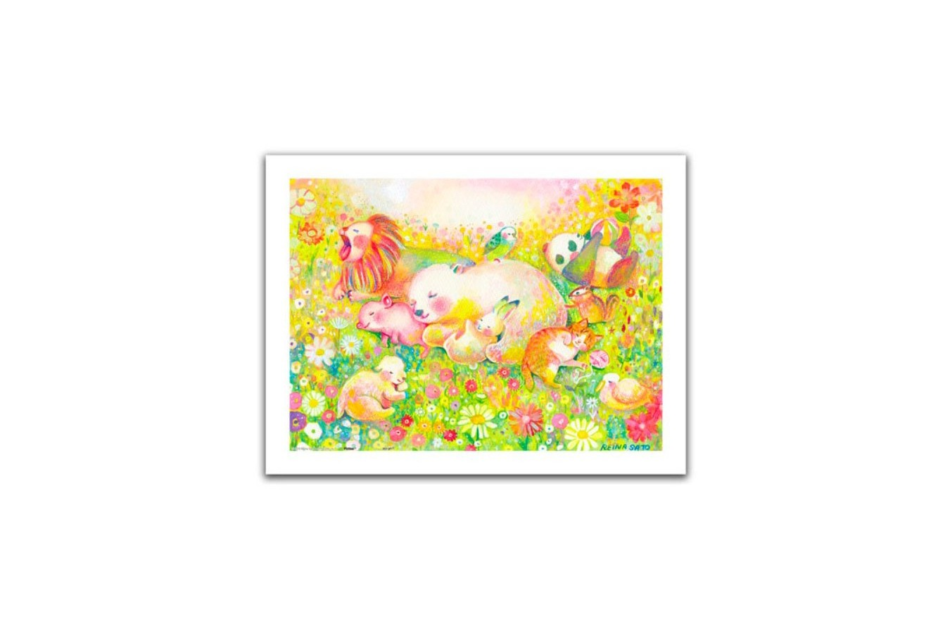 Puzzle din plastic Pintoo - Reina Sato: Sweet Dreams, 300 piese (H2110) imagine