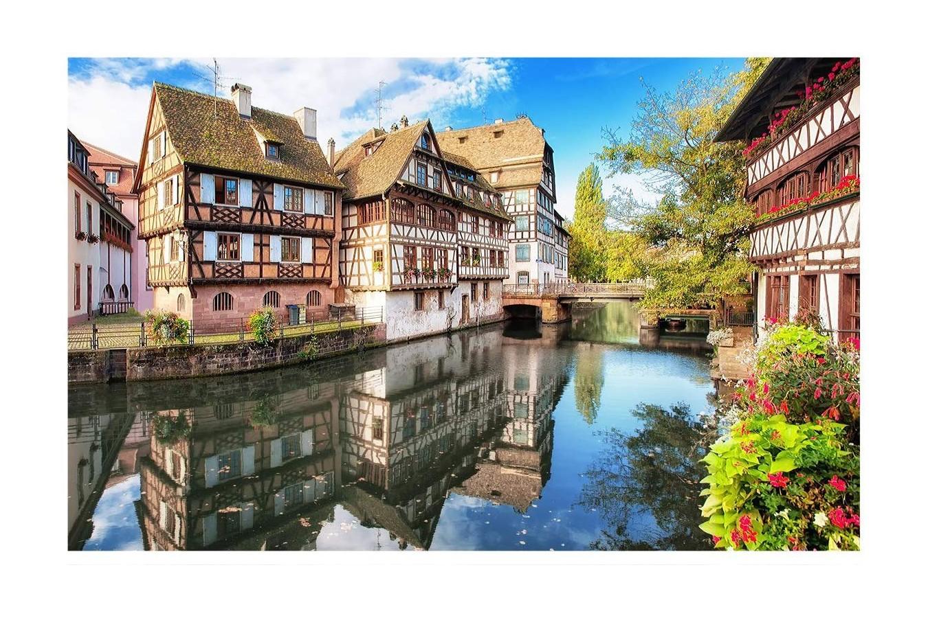 Puzzle din plastic Pintoo - Strasbourg, Petite France, 4.000 piese (H1755) imagine