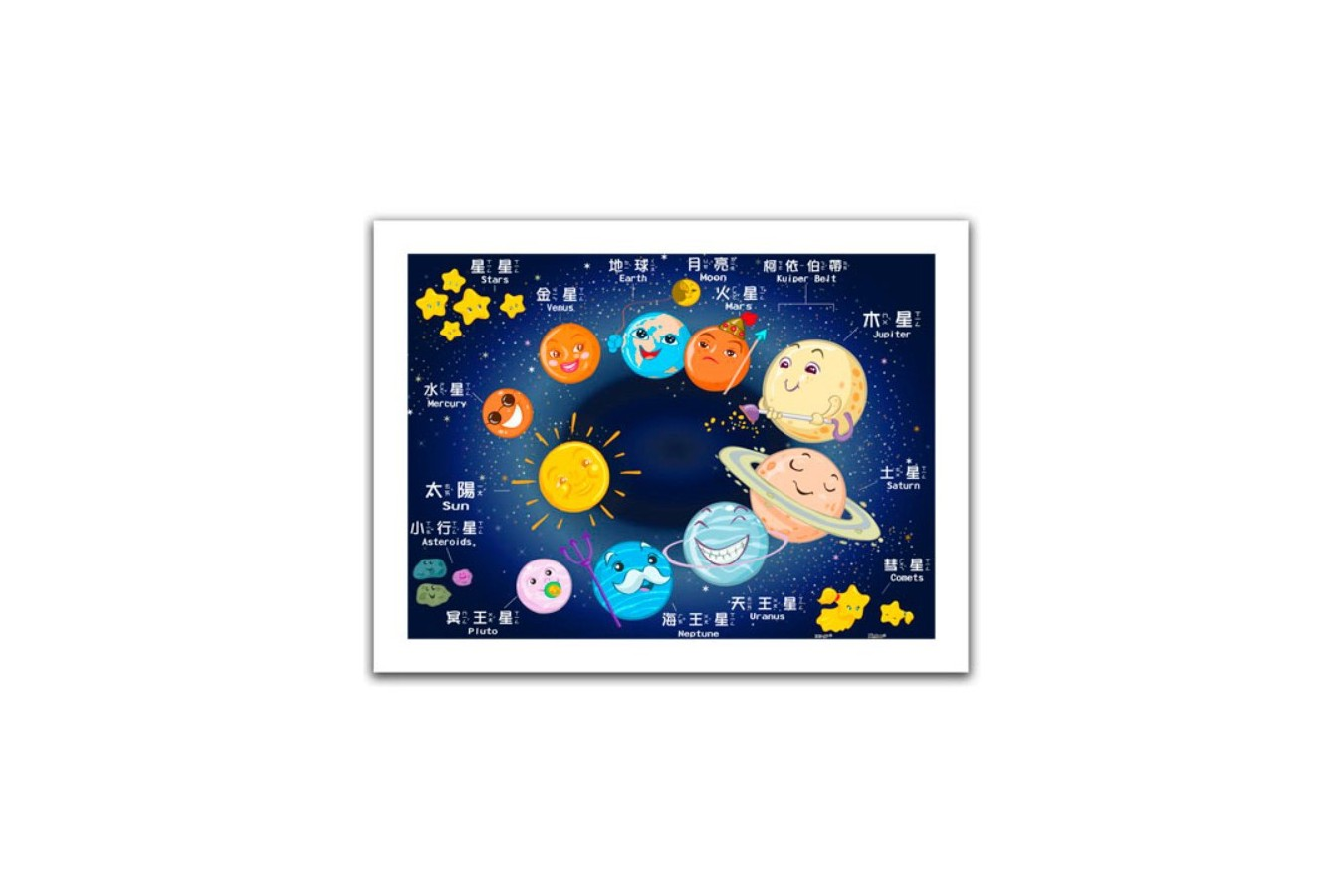 Puzzle din plastic Pintoo - Sweet Universe, 300 piese (H1496) imagine