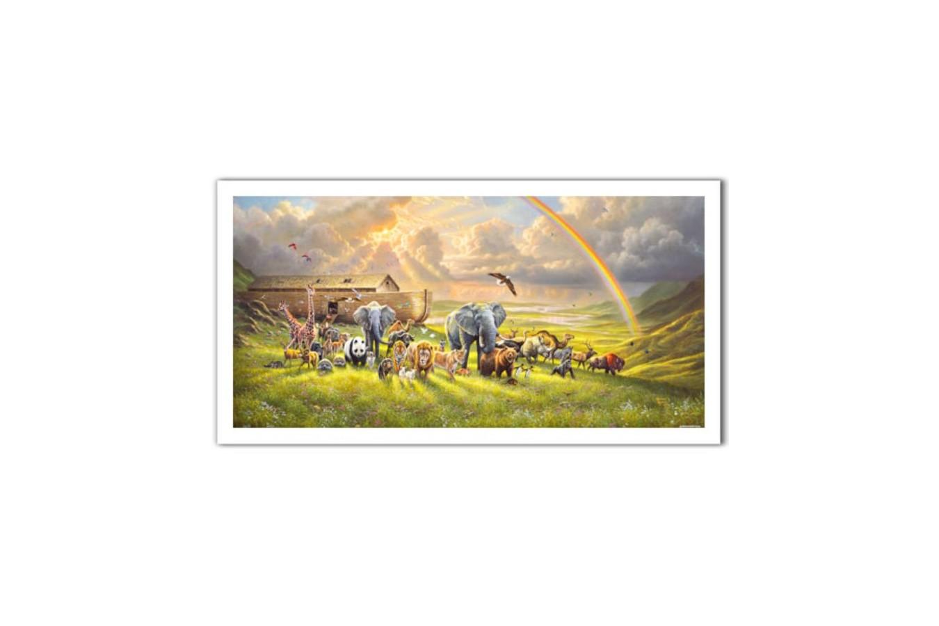 Puzzle panoramic din plastic Pintoo - Abraham Hunter: New Beginning, 800 piese (H2061) imagine