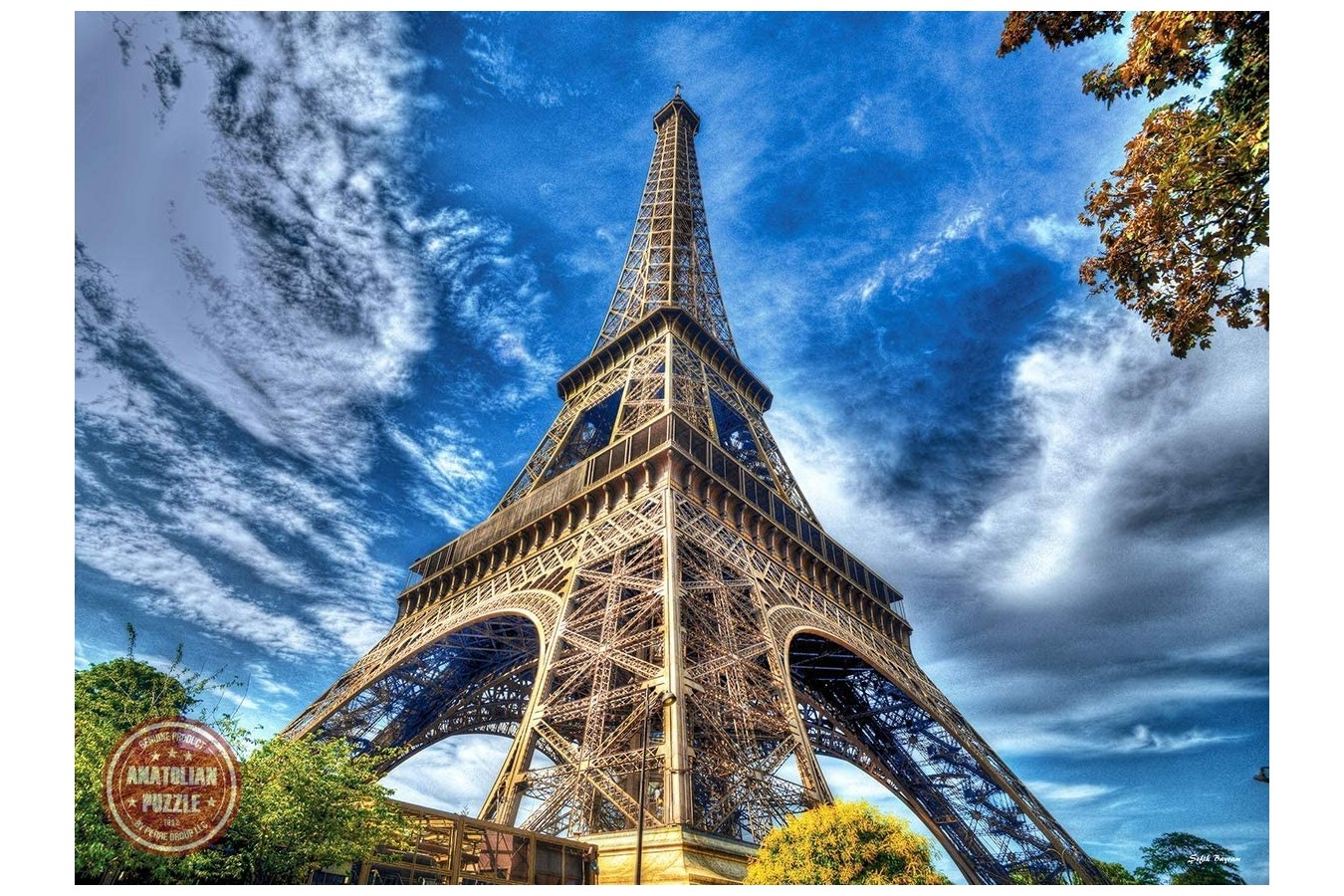 Puzzle Anatolian - Eiffel Tower, 1.000 piese (P1080) imagine
