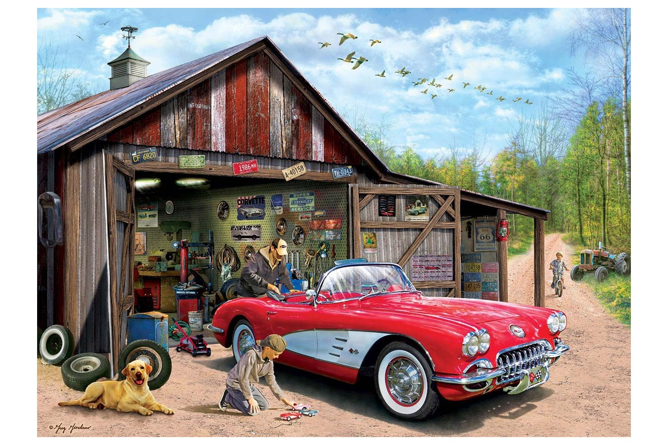 Puzzle Eurographics - Out of Storage, 1.000 piese (6000-5447) imagine