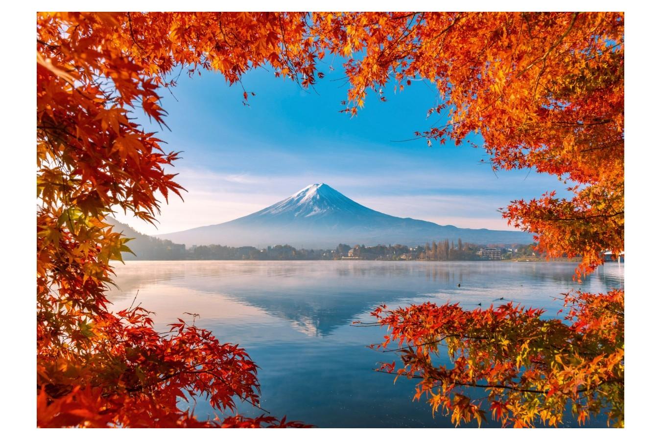 Puzzle Schmidt - Autumn Splendor Of Mount Fuji, 1.000 piese (58946) imagine