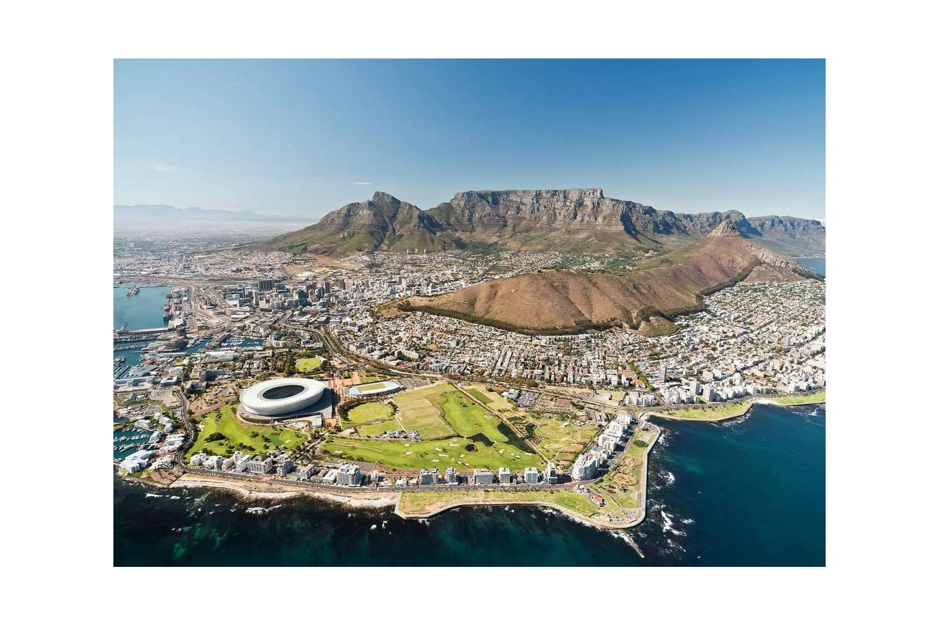 Puzzle Ravensburger - Cape Town, South Africa, 1.000 piese (14084) imagine