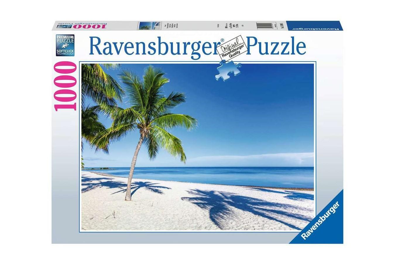 Puzzle Ravensburger - Beach Escape, 1.000 piese (15989) - 1