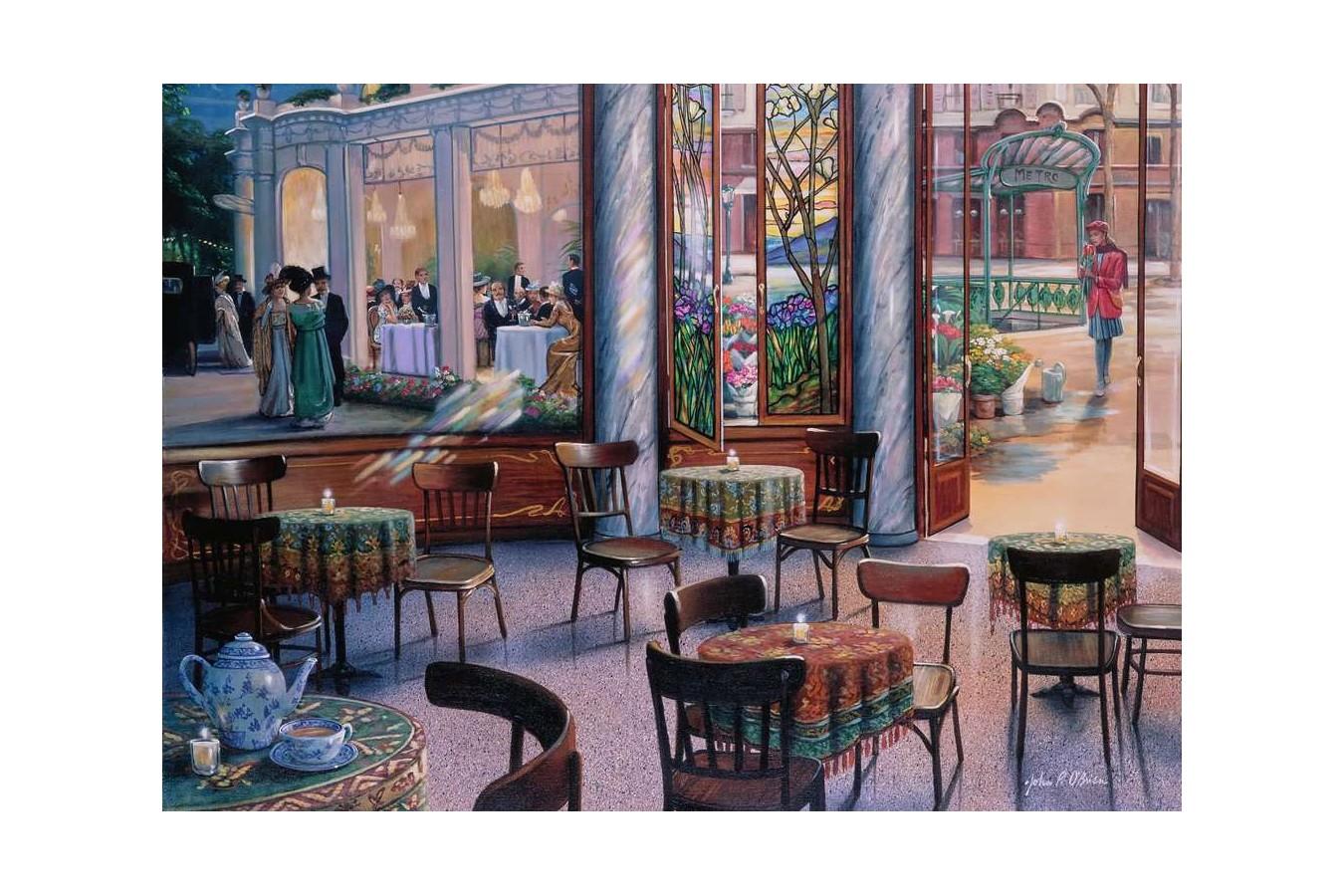 Puzzle Ravensburger - Coffee Break, 1.000 piese (16449) imagine