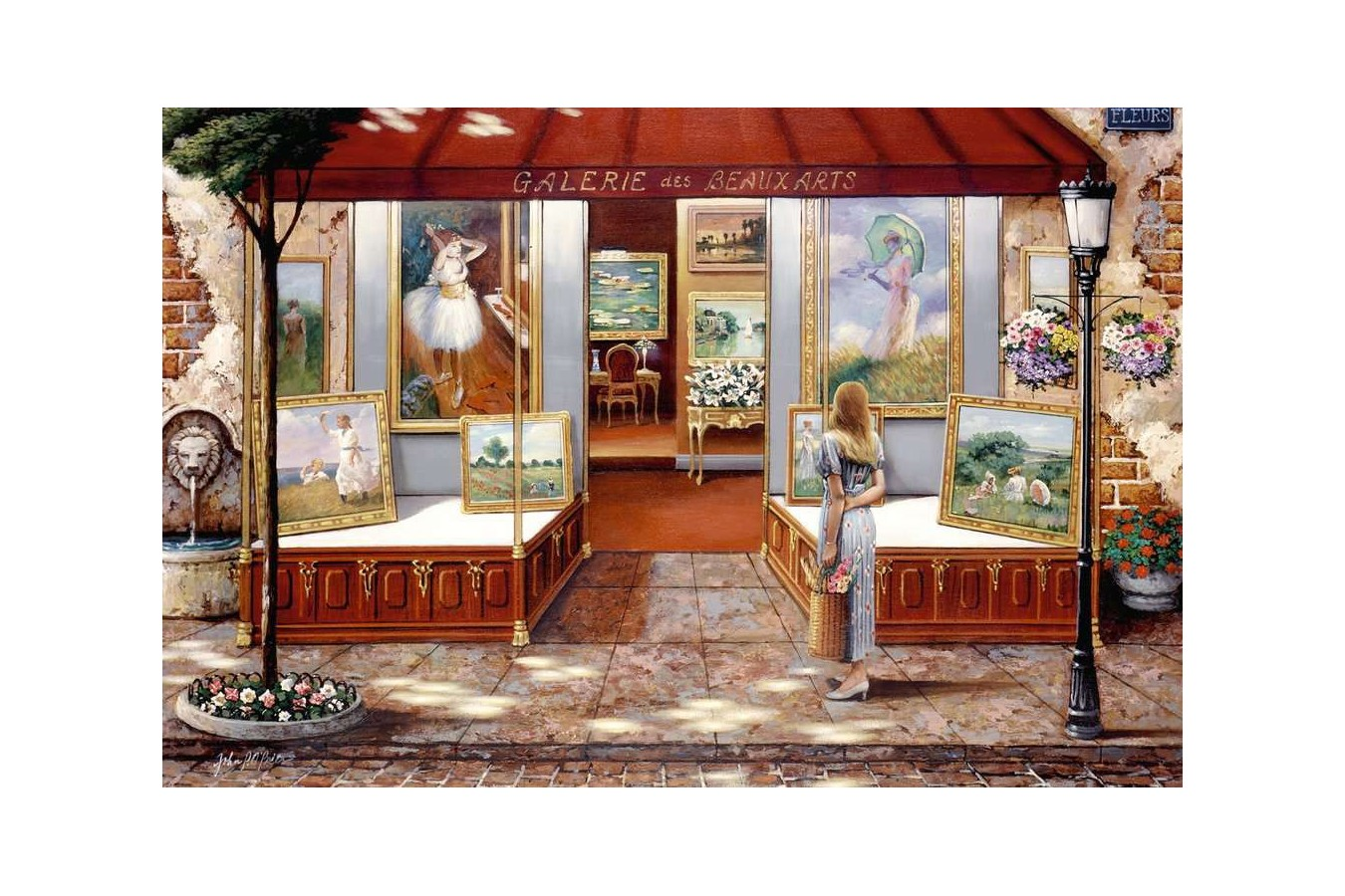 Puzzle Ravensburger - Fine Arts Gallery, 3.000 piese (16466)