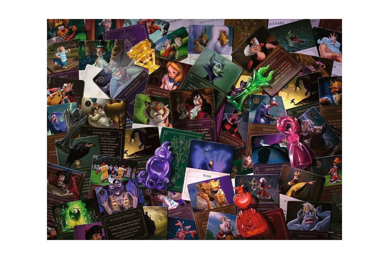 Puzzle Ravensburger - Disney Villainous, 2.000 piese (16506)