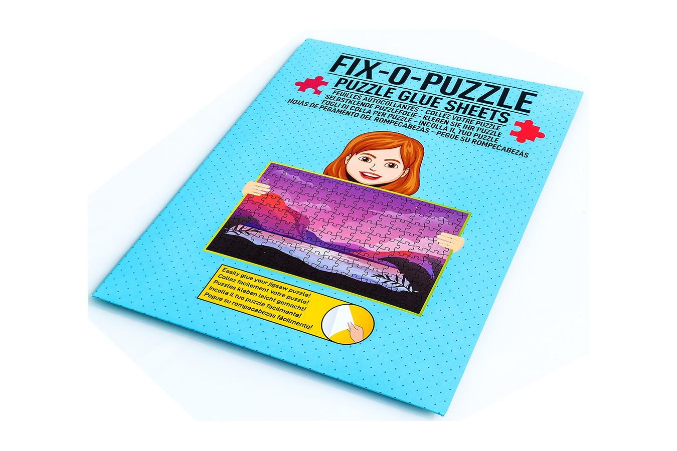 Folie pentru lipit puzzle, alba (WLP-1000) imagine