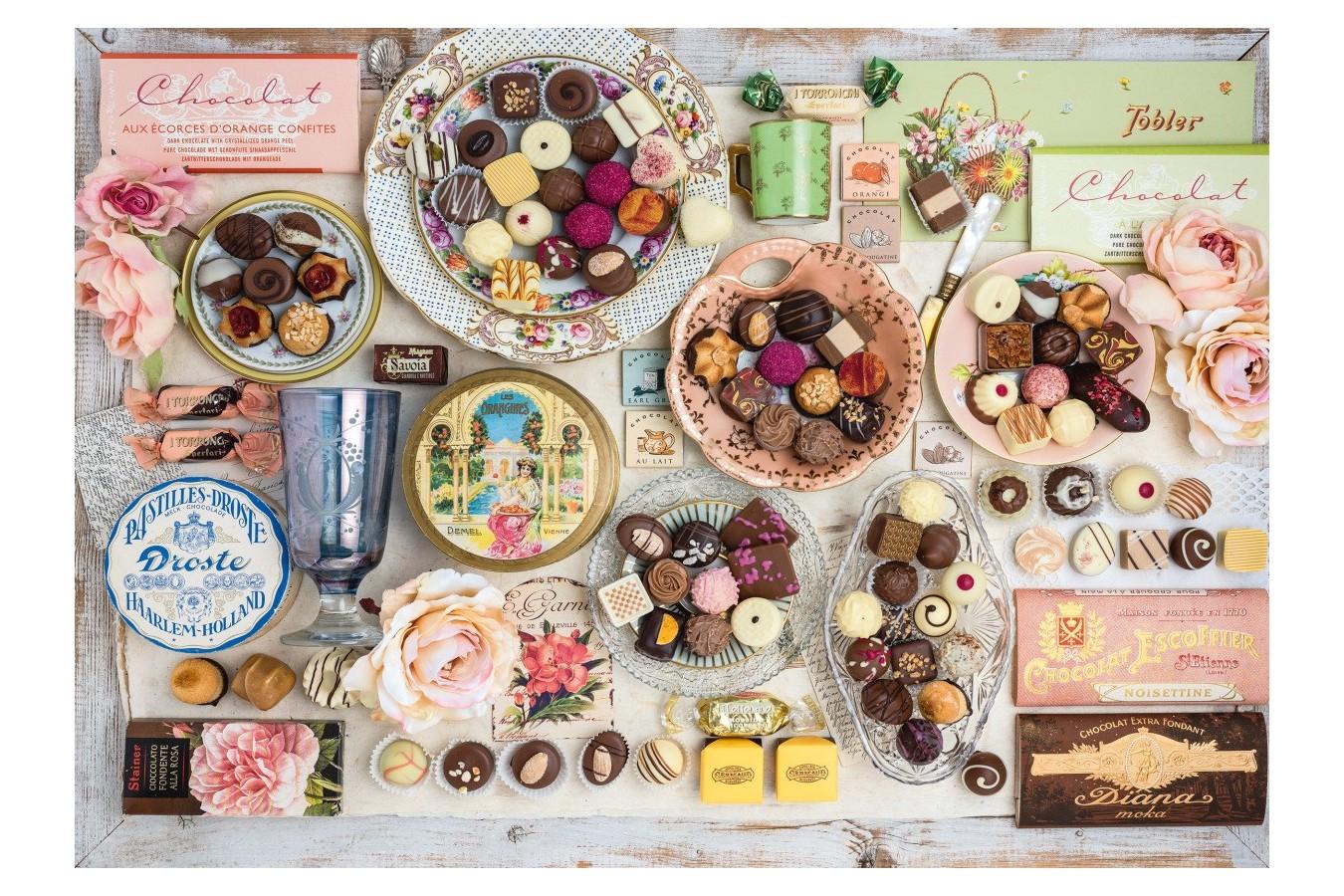 Puzzle Schmidt - Nostalgic Chocolates, 1500 piese (58940)