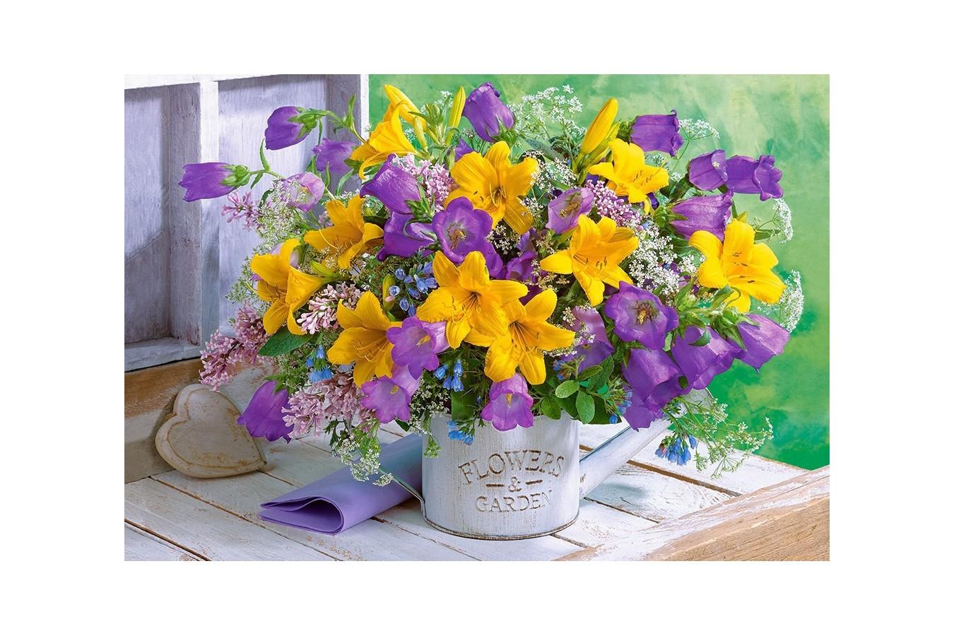 Puzzle Castorland - Flowers & Garden, 1.000 piese (104642)