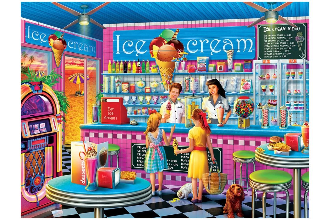 Puzzle Master Pieces - Anna's Ice Cream Parlor, 750 piese (Master-Pieces-32011) imagine