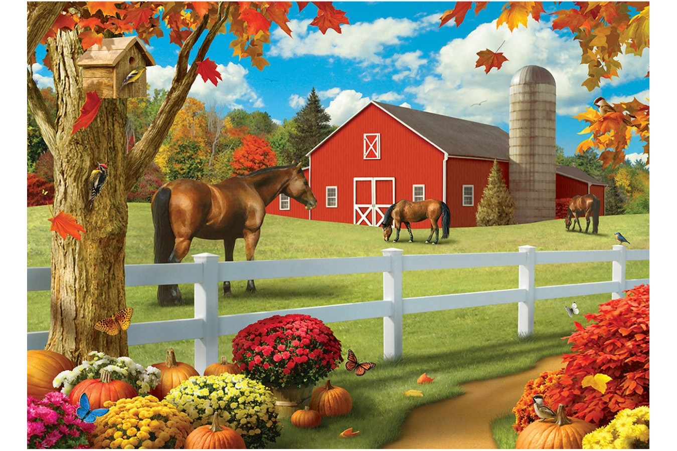 Puzzle Master Pieces - Pastures of Chance, 1.000 piese (Master-Pieces-81741) imagine