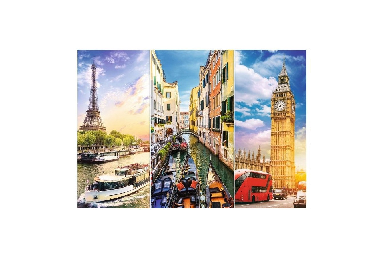 Puzzle Trefl - A Journey through Europe, 4.000 piese (45009)