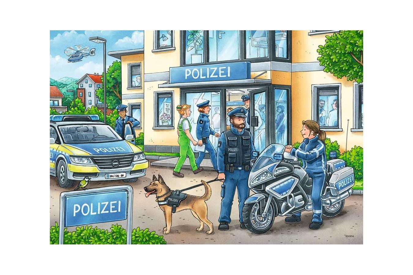 Puzzle Ravensburger - Ancheta Politie, 2x24 piese (05031) imagine