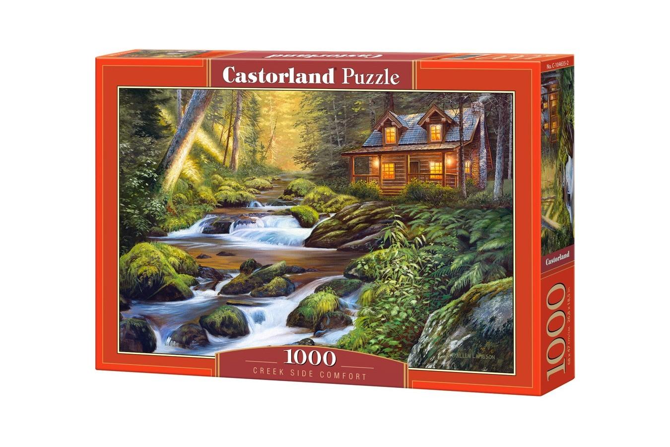 Puzzle Castorland - Creek Side Comfort, 1.000 piese (104635) imagine