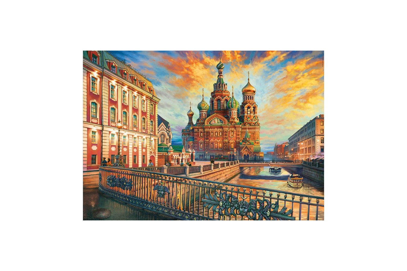 Puzzle Educa - Saint Petersburg, 1500 piese (18501)