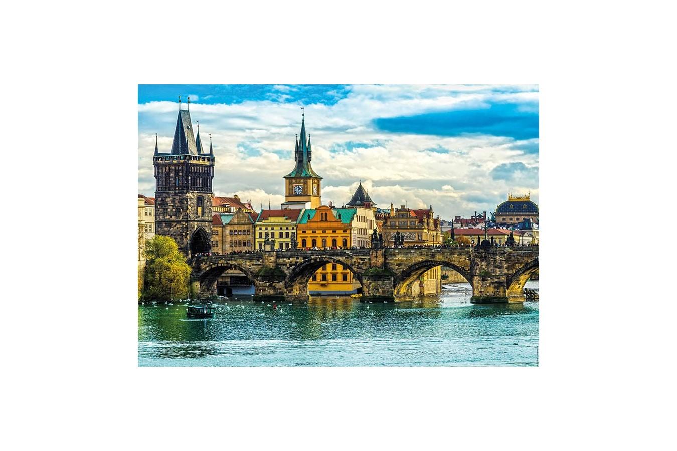 Puzzle Educa - Praga, 2.000 piese (18504)