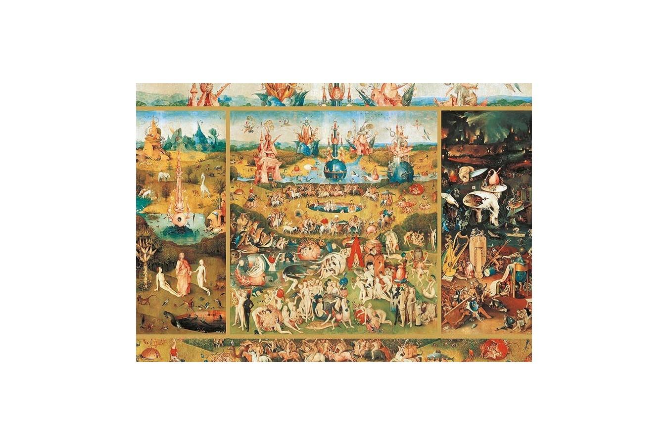 Puzzle Educa - Hieronymus Bosch: The Garden Of Delights, 2.000 piese (18505)