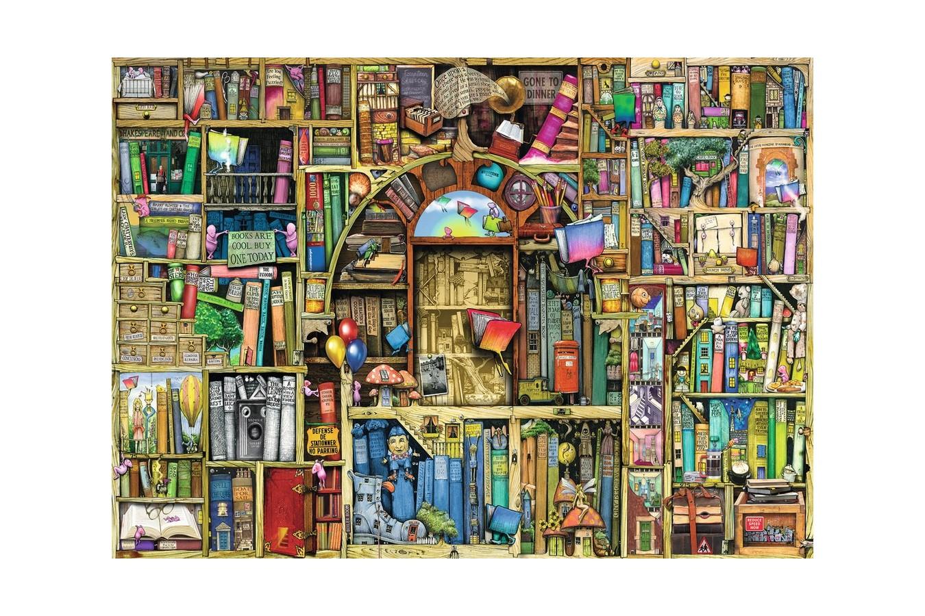 Puzzle Ravensburger - Colin Thompson: Libraria Bizara 2, 1.000 piese (19418) imagine