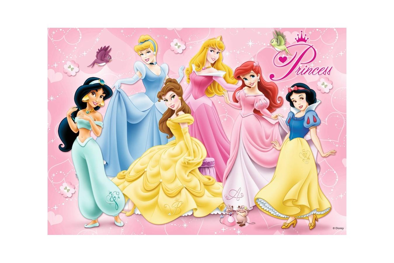 Puzzle Ravensburger - Printesele Disney, 15/20/25 piese (07228) imagine