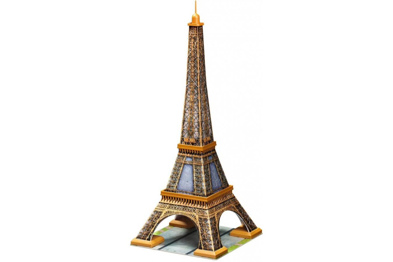 Puzzle 3D Ravensburger - Turnul Eiffel, 216 piese (12556) imagine