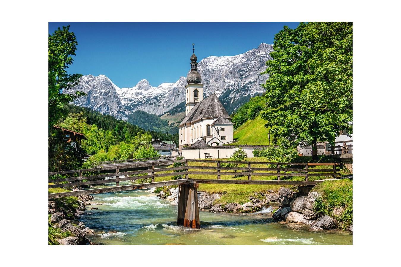 Puzzle Ravensburger - Ramsau Bavaria, 300 Piese imagine