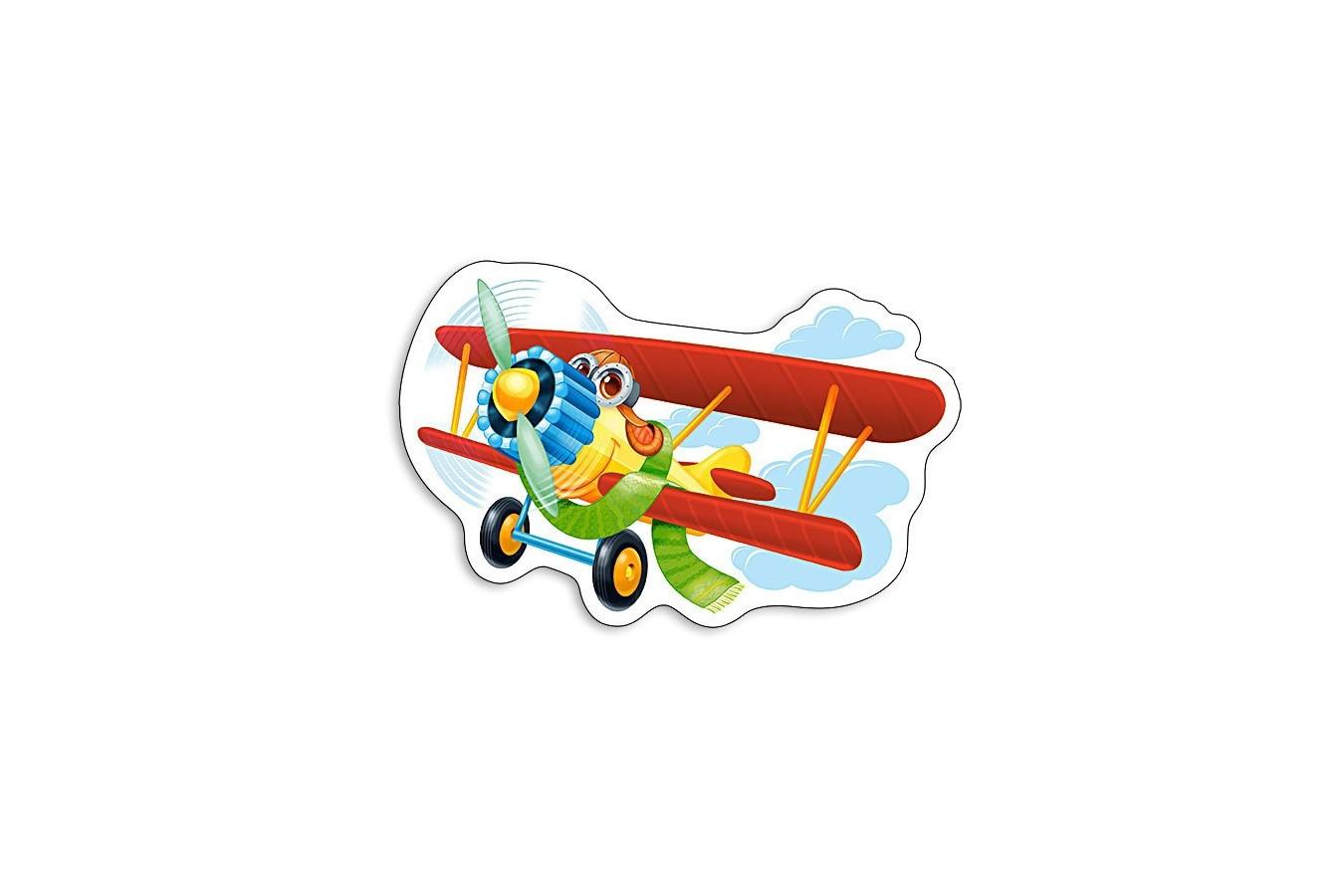 Puzzle Castorland Midi - Funny Plane, 15 Piese imagine