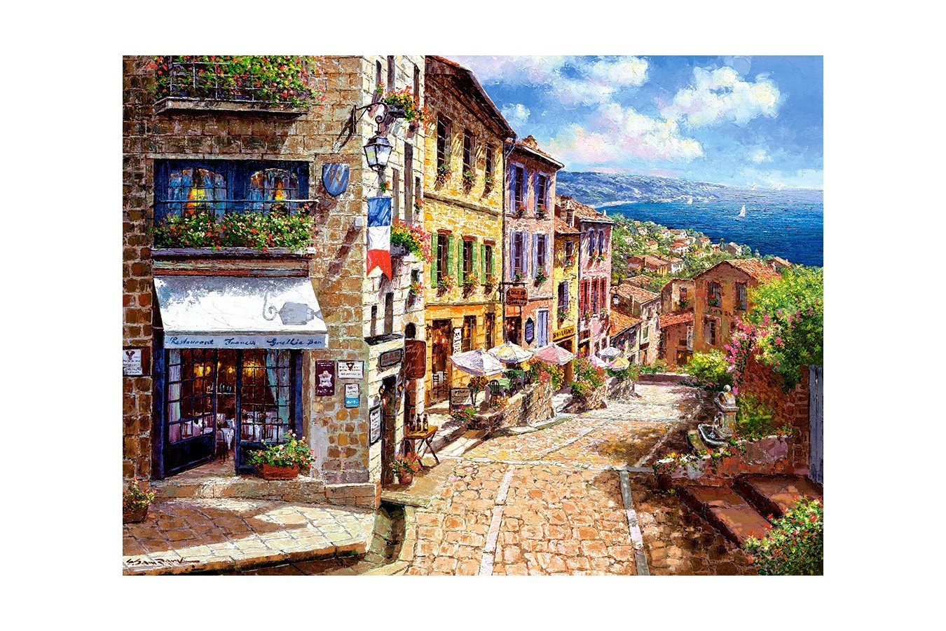 Puzzle Castorland - Afternoon in Nice, 3000 piese imagine