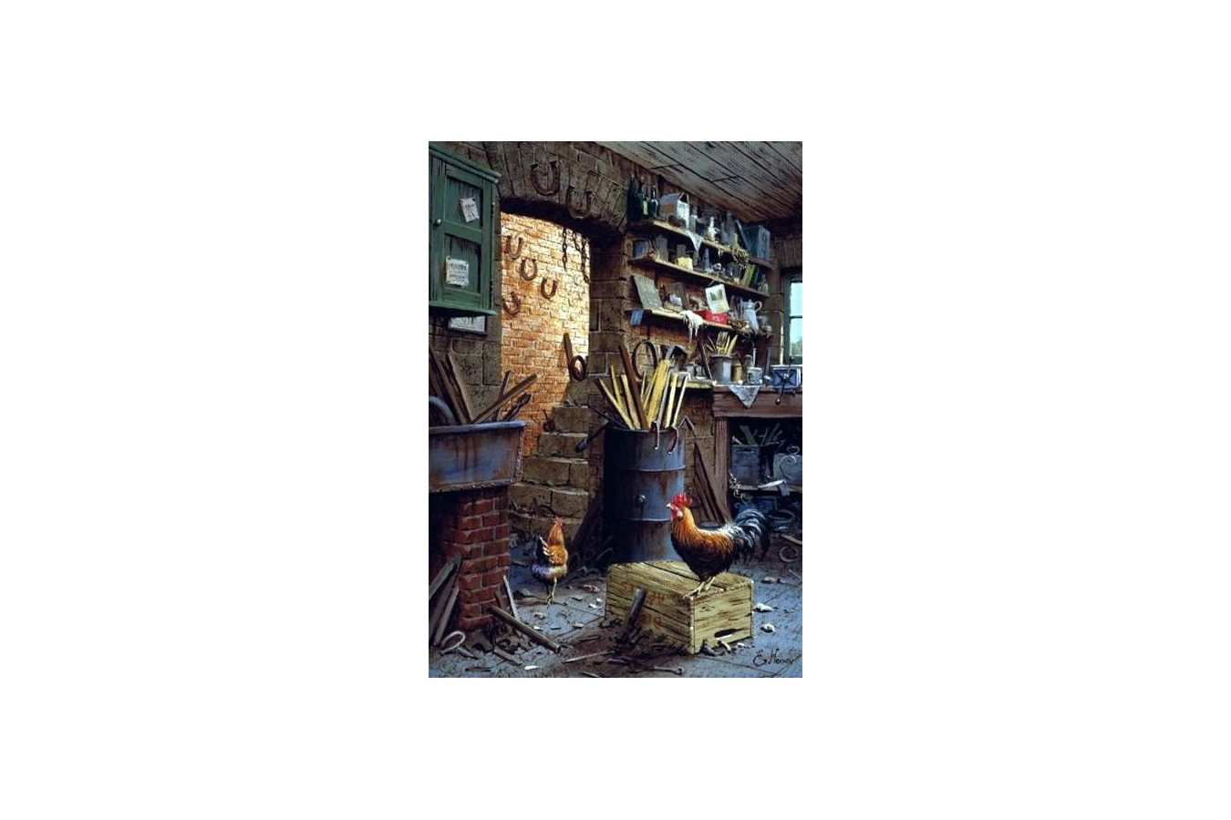 Puzzle Anatolian - The Workshop, 500 piese (3553) imagine