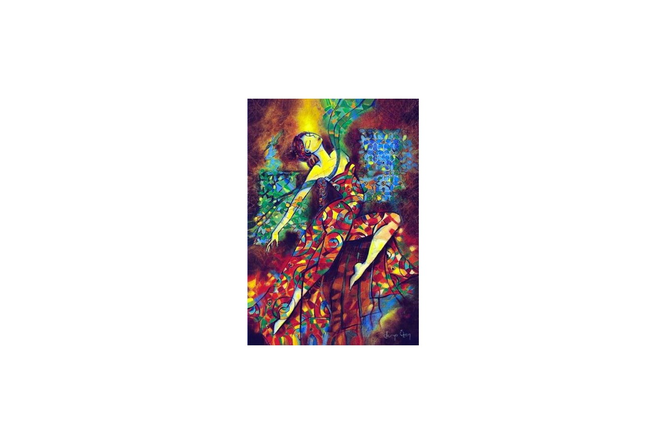 Puzzle Anatolian - Dancing With Colours, 500 piese (3554) imagine