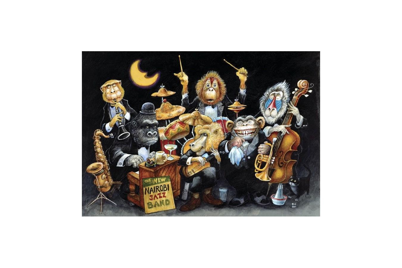 Puzzle Anatolian - The New Nairobi Jazz Band, 500 piese (3580) imagine