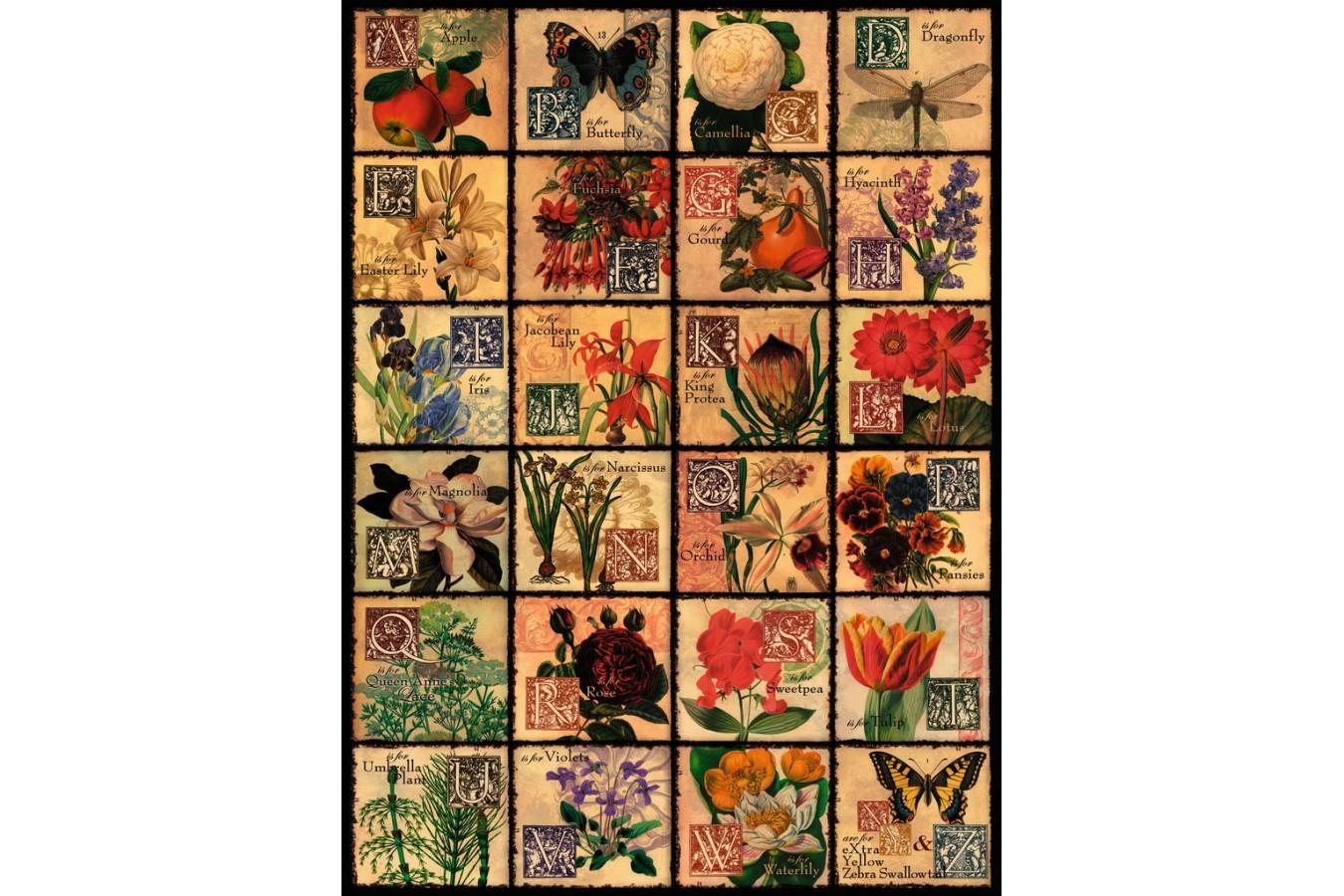 Puzzle Ravensburger - Flori, 500 piese (14126) imagine
