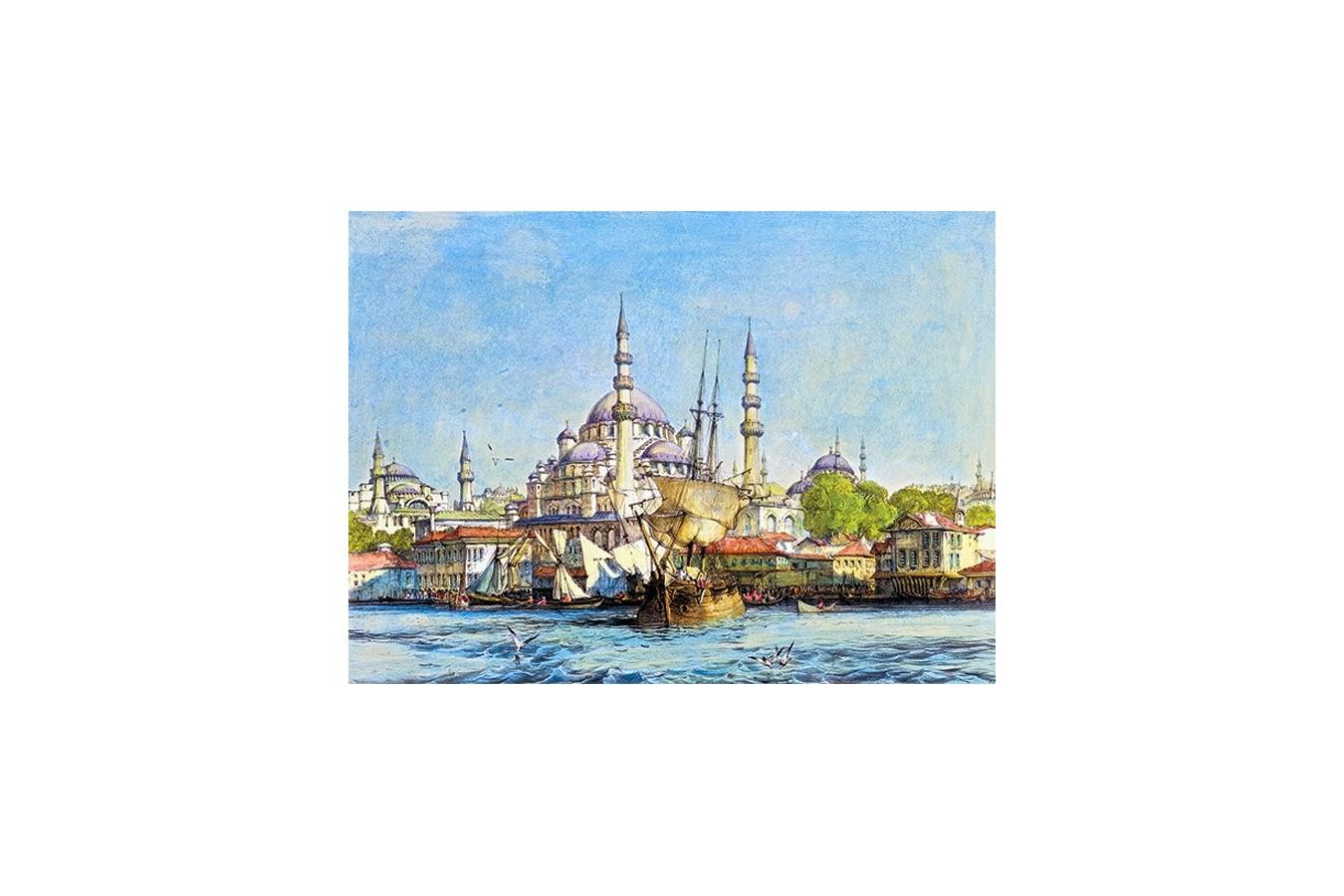 Puzzle Anatolian - Yeni Jami and Saint Sophia, 1000 piese (3166) imagine