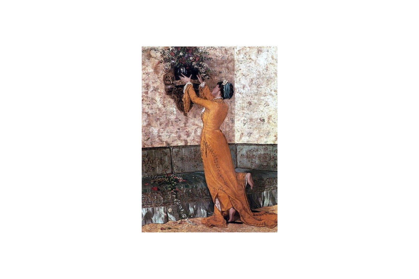 Puzzle Anatolian - The Girl with Vase, 1000 piese (8020) imagine