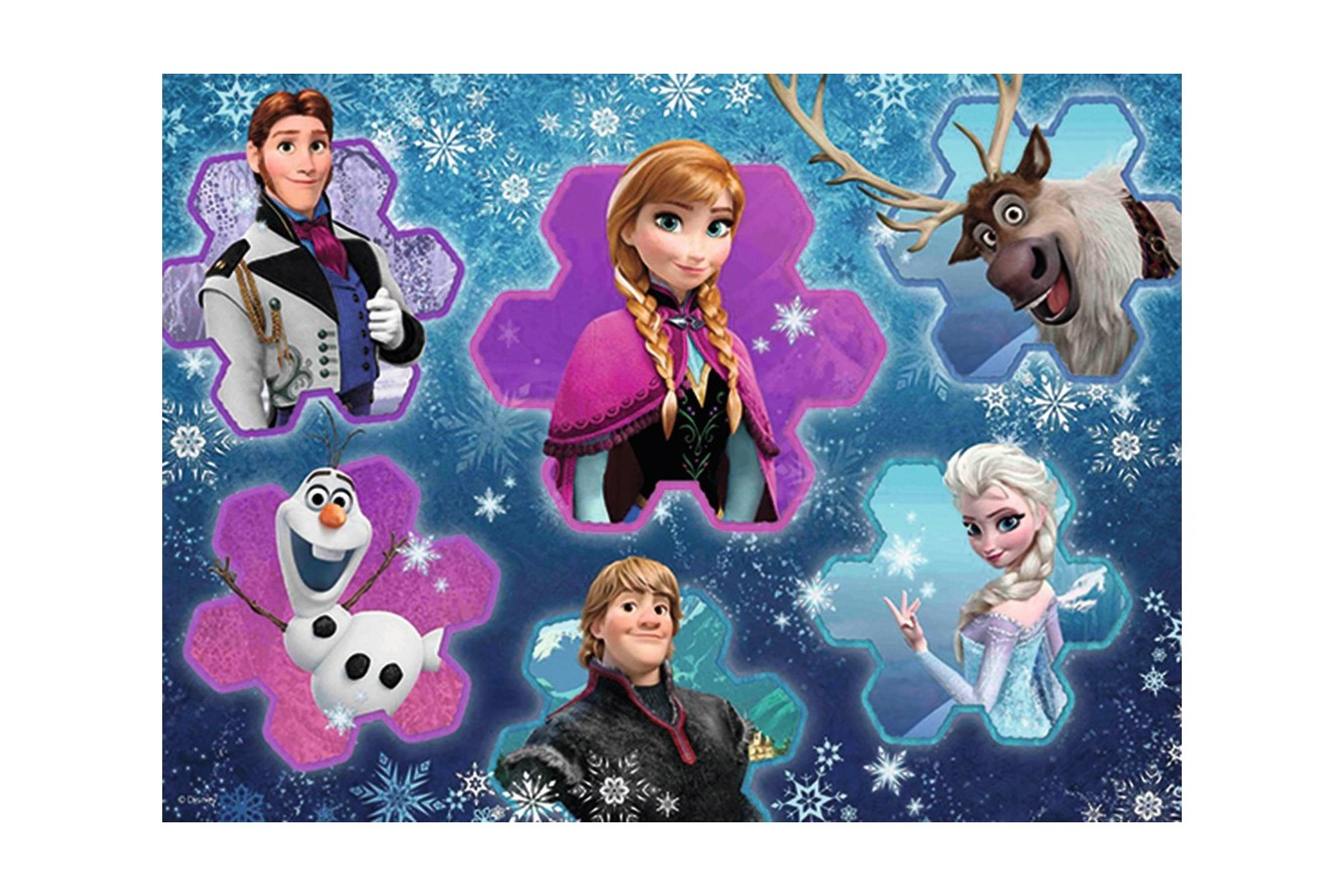 Puzzle Ravensburger - Frozen Regina Ghetii, 300 piese (13180) imagine