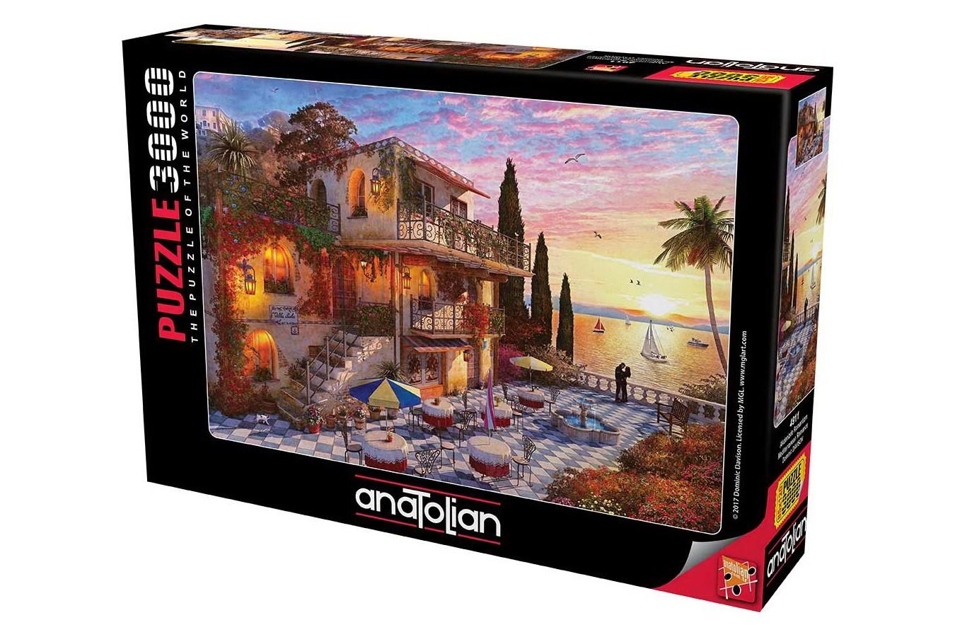 Puzzle Anatolian - Mediterranean Romance, 3000 piese (4911) - 1