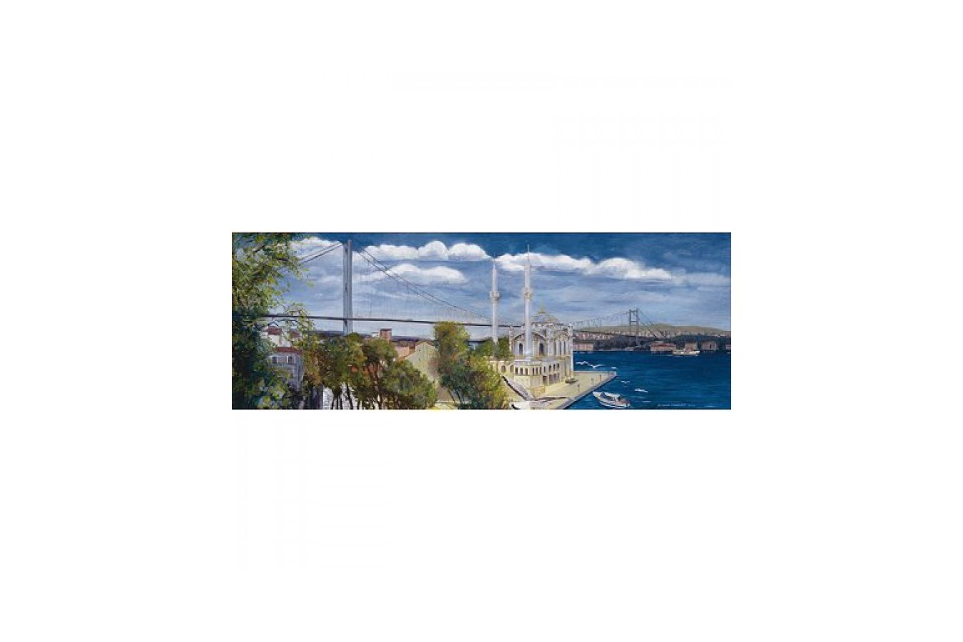 Puzzle Educa - Turkey Special Collection: Ortakoy Panorama, 1000 piese (14314) imagine