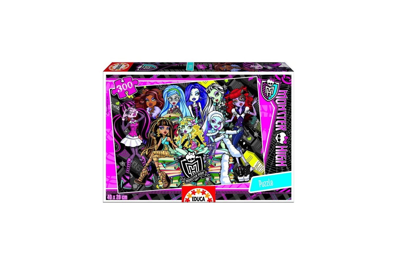 Puzzle Educa - Monster High, 300 piese (15631) imagine