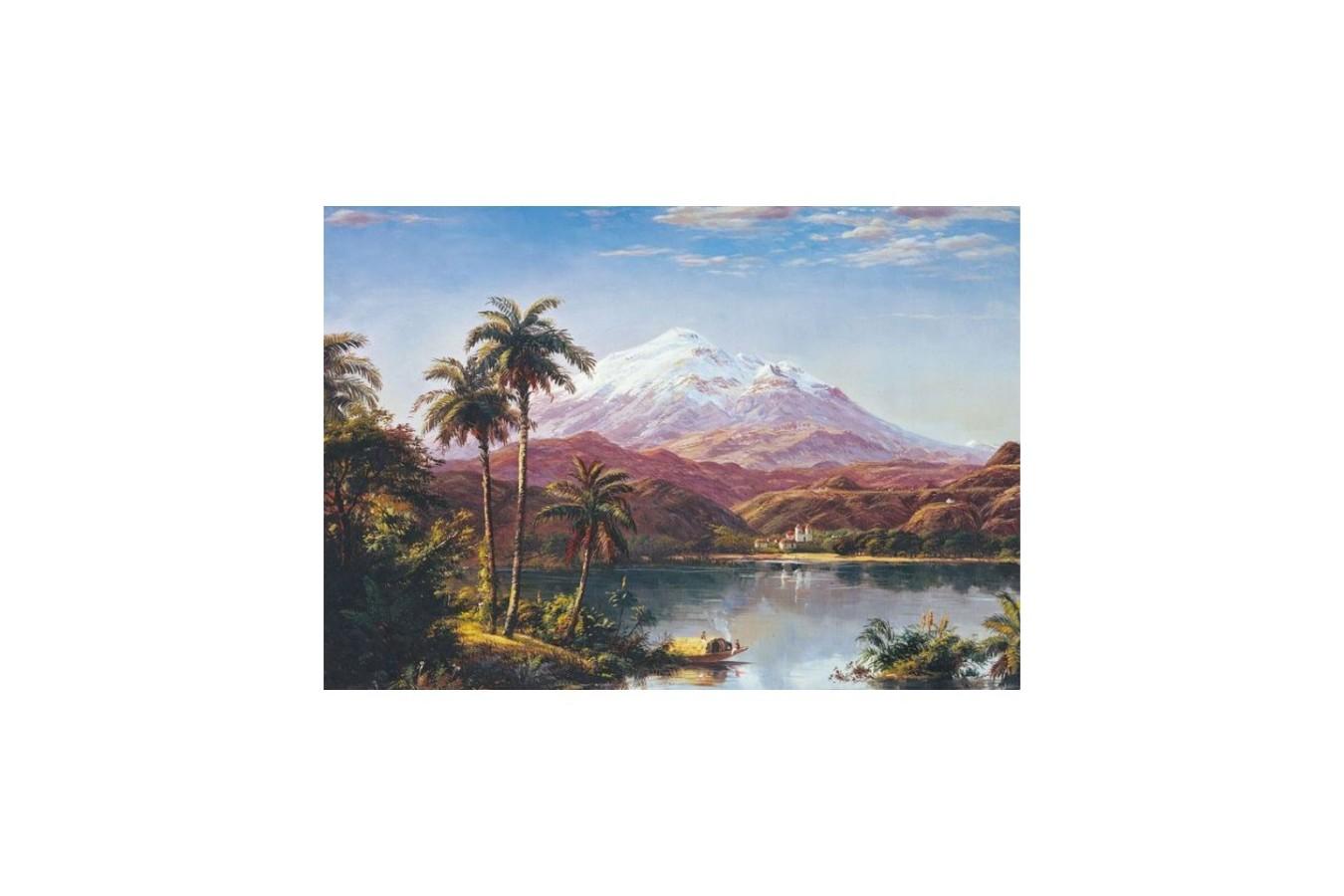 Puzzle Educa - Tamaca Palms, 500 piese (15797) imagine