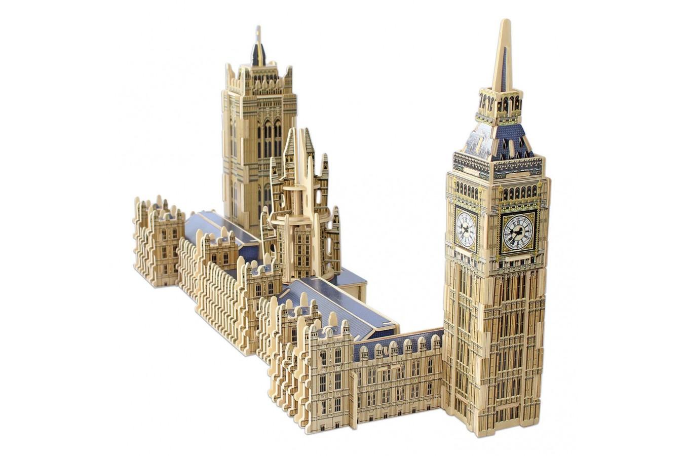Puzzle 3D din lemn Educa - Big Ben & Parliament, 156 piese (16971) imagine