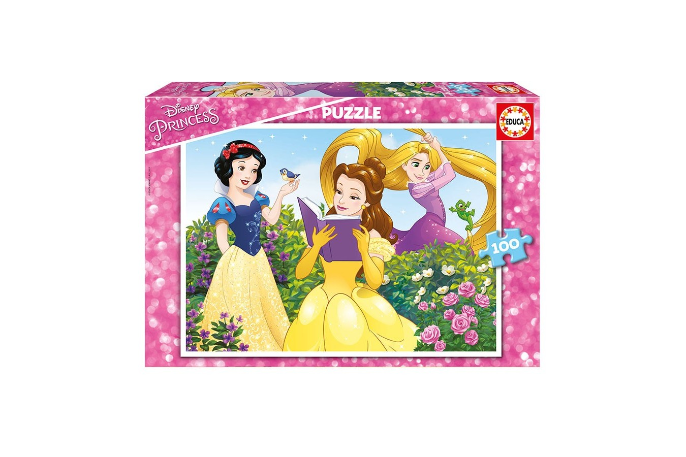 Puzzle Educa - Disney Princess, 100 piese (17167) imagine