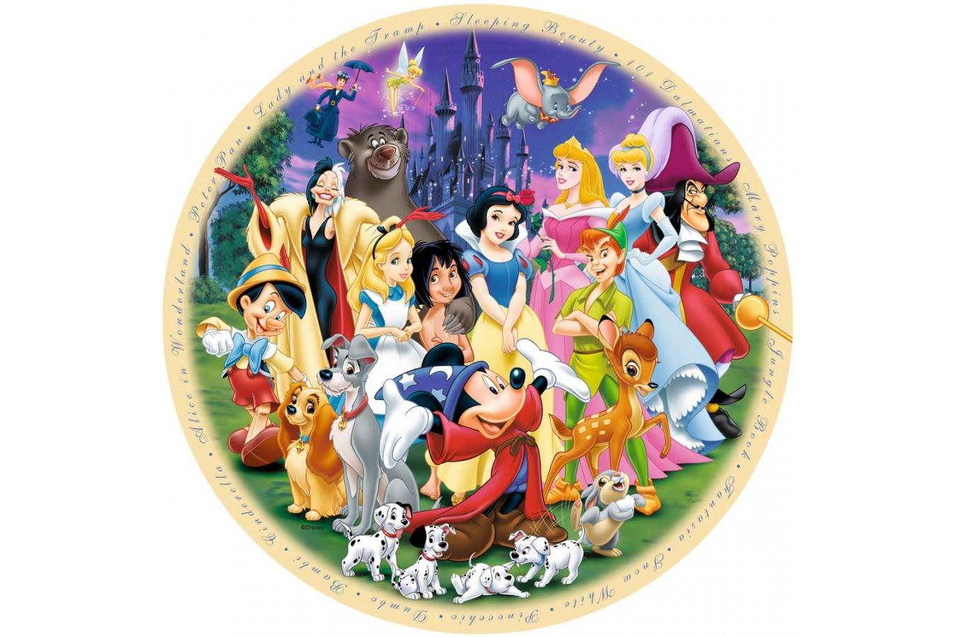 Puzzle Ravensburger - Minunata Lume Disney, 1.000 piese (15784) imagine