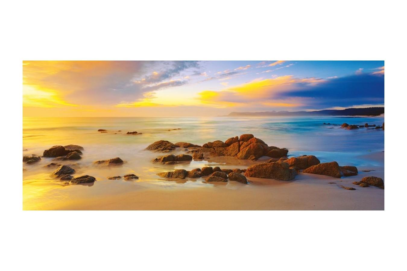 Puzzle panoramic Schmidt - Mark Gray: Plaje prietenoase, Tasmania, Australia, 136 piese (59364) imagine