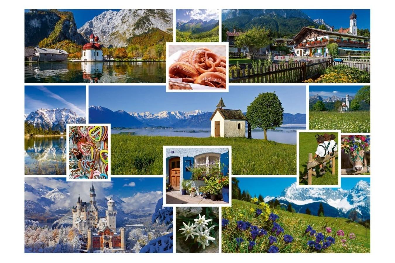 Puzzle Schmidt - In munti, 1.000 piese (58222) imagine