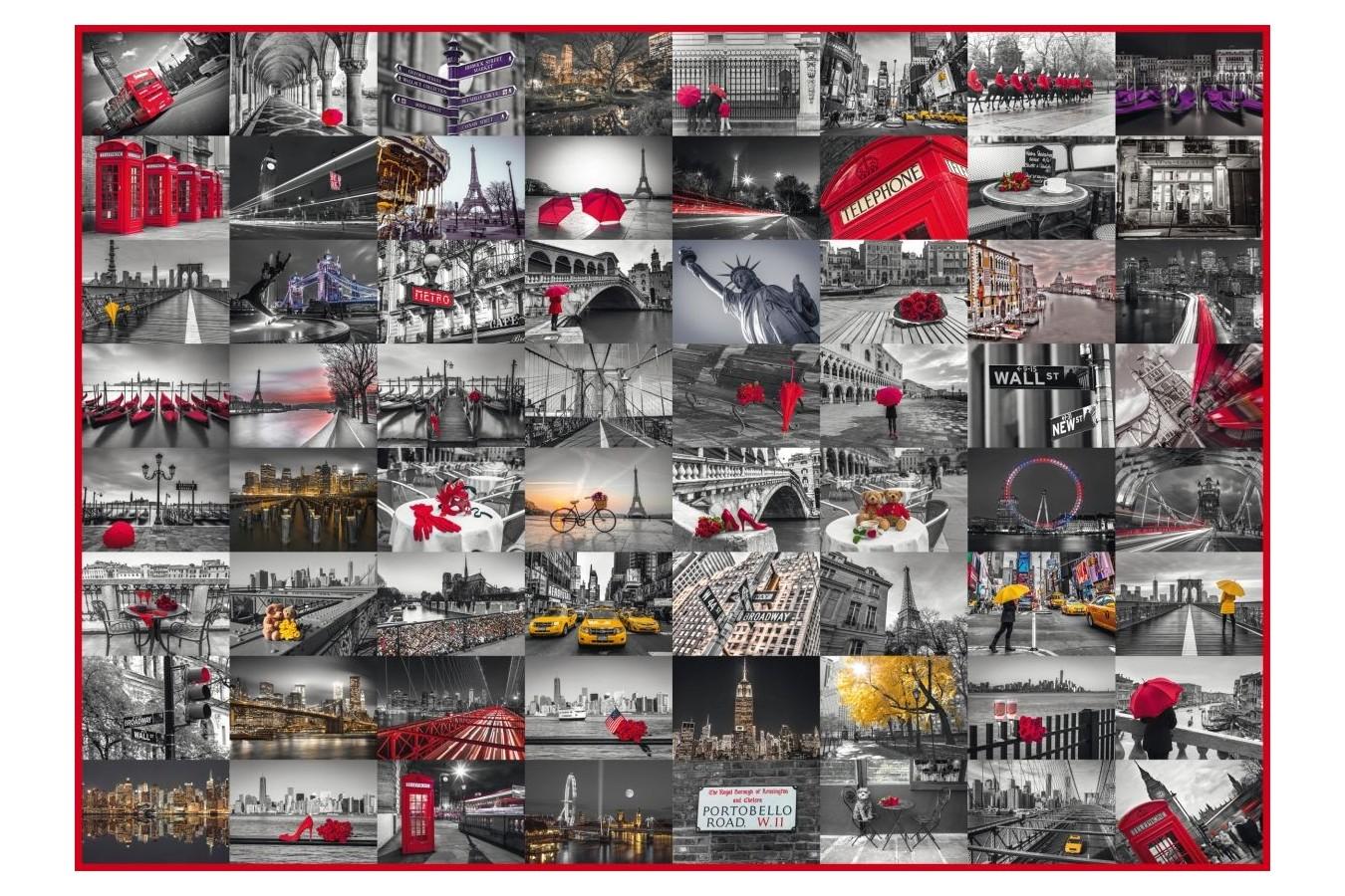 Puzzle Schmidt - Imaginile orasului, 1.500 piese (58296) imagine