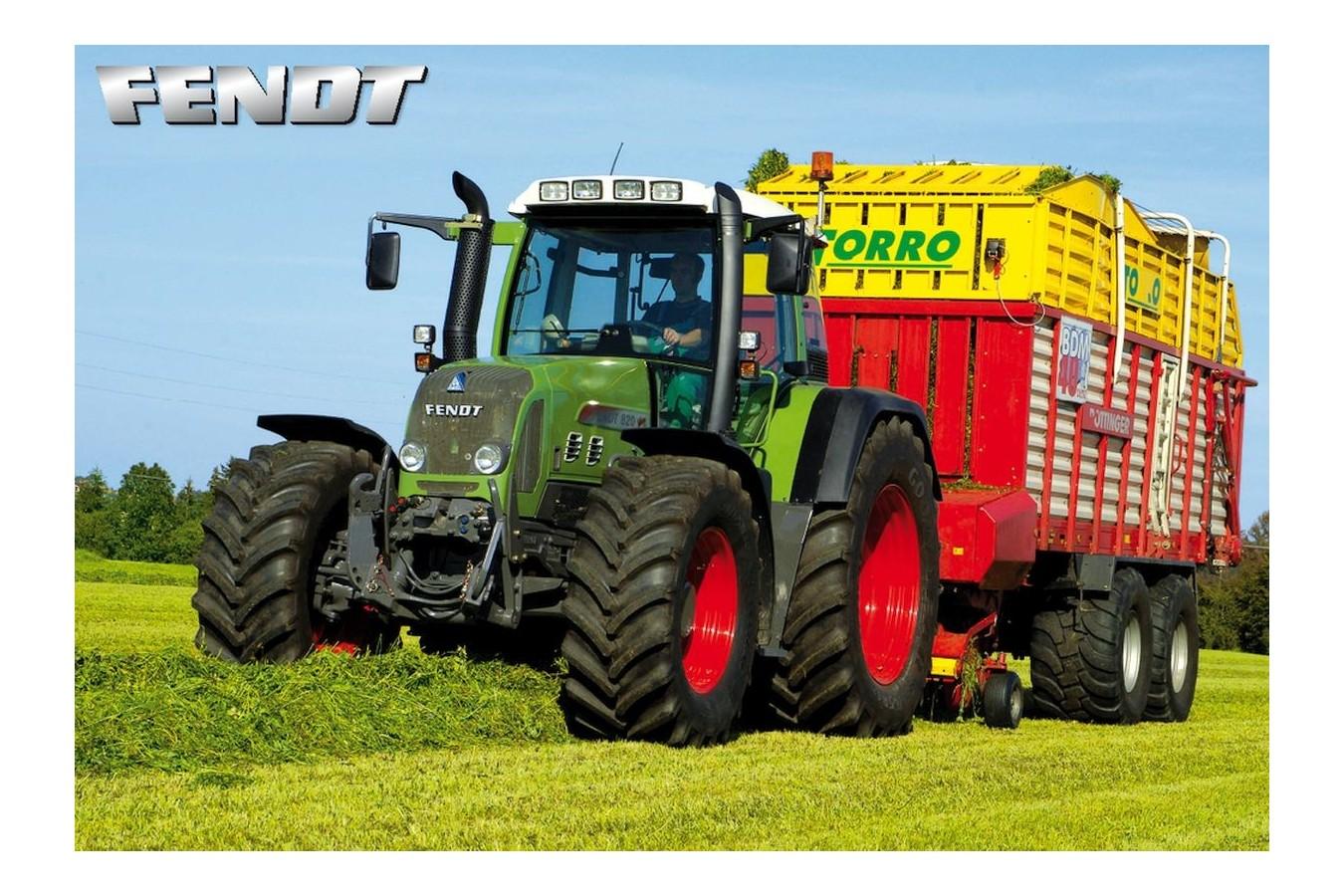 Puzzle Schmidt - Tractor, 150 piese (55054) imagine
