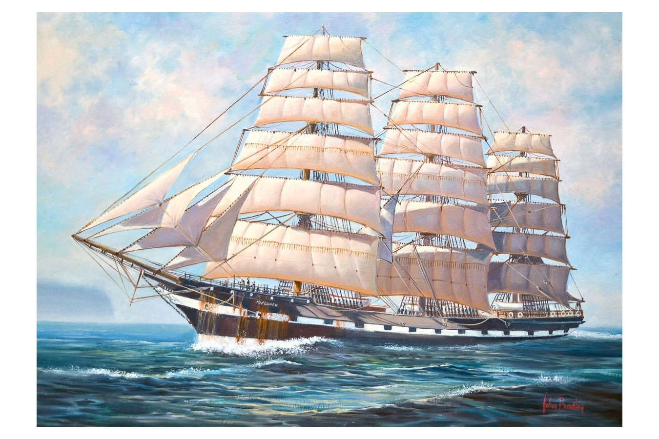 Puzzle Schmidt - Raise the Sails!, 500 piese (58311) imagine